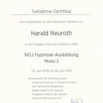 NOJ Hypnose Ausbildung Modul 2